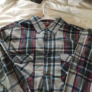 Arizona Jeans Men's Flannel Button down